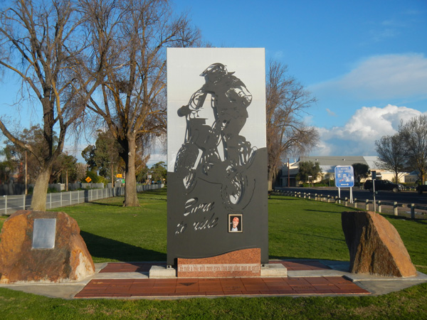 Andy Caldecott Memorial, Keith South Australia